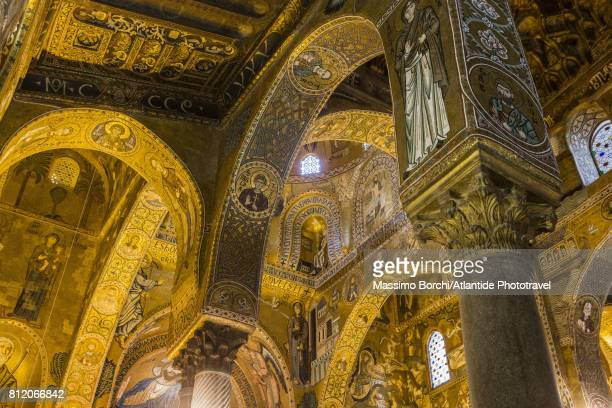 Palatine Chapel, detail of the ceiling
