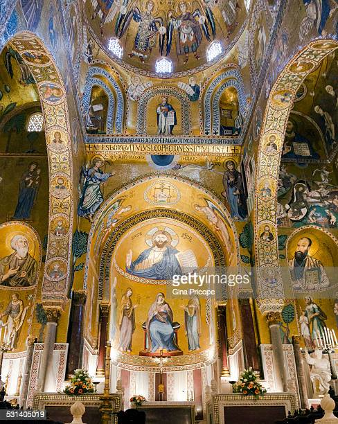 Palatine Chapel in Palermo, Italy