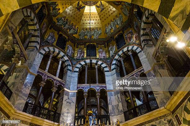 palatine chapel - aachen stock pictures, royalty-free photos & images