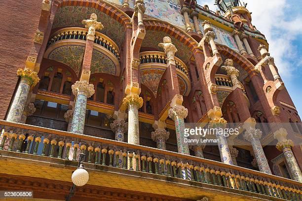 Palau de la Musica Catalana Concert Hall, Barcelona