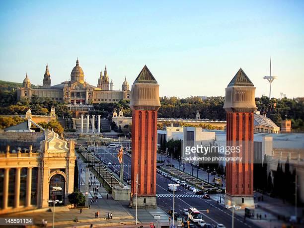 Palau Nacional de Montjuic. Barcelona. Spain