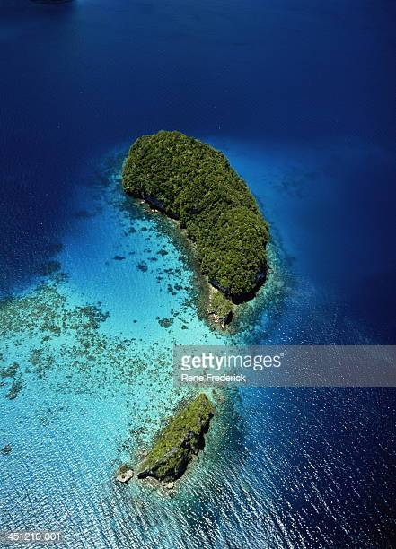 Palau, Rock Islands, aerial view