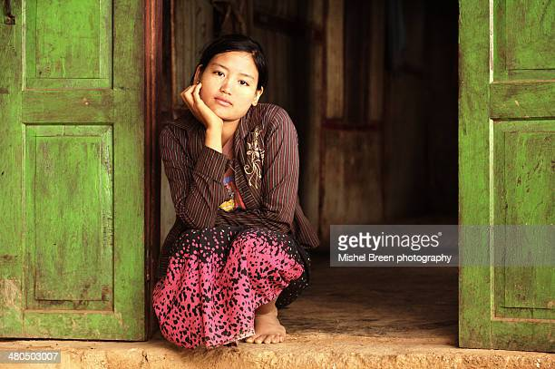 Palaung young woman
