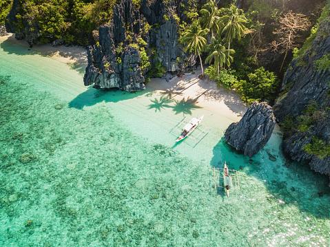 Palawan El Nido Entalula Island Beach Philippines 985553596