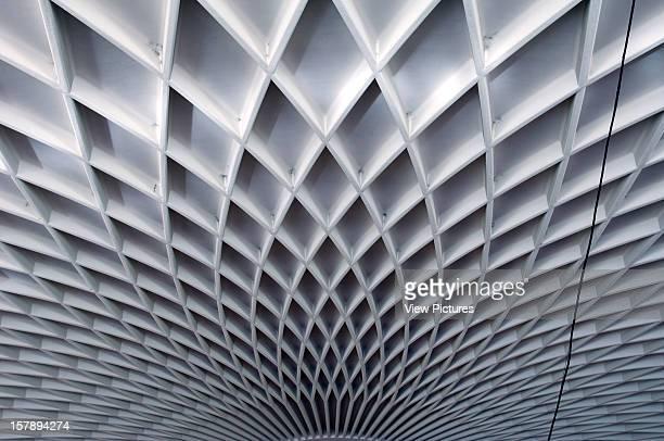 Palazzetto Dello Sport Rome Italy Architect Pier Luigi Nervi / Annibale Vitellozzi Palazzetto Dello Sport Detail Of Ceiling