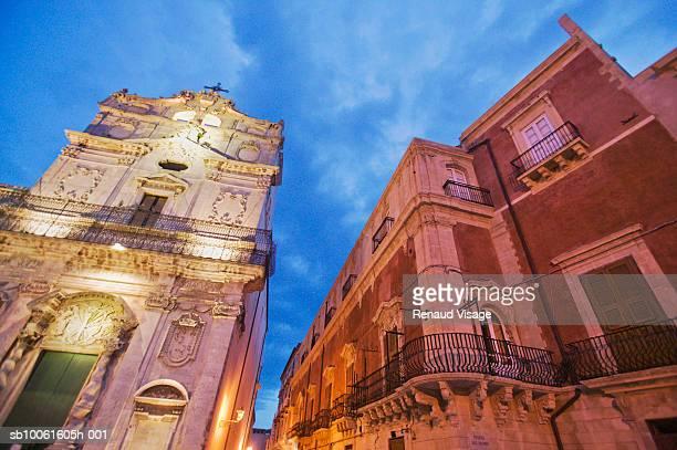 Palazzo Arcivescovile, Piazza del Duomo, Syracuse, Sicily, Italy