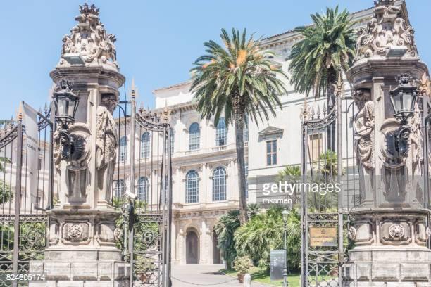 palazzo barberini, galleria nazionale d'arte antica, rome, lazio, italy - arte stock pictures, royalty-free photos & images
