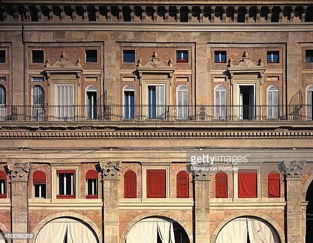 Palazzo dei Banchi attributed to Barozzi Jacopo known as Vignola 1560 1565 16th Century visible Roman Brick work and stone