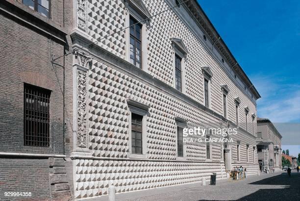 Palazzo dei Diamanti 14931503 by Biagio Rossetti Ferrara Emilia Romagna Italy 15th16th century