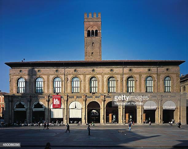 Palazzo del Podestà by Barozzi Jacopo known as Vignola 1515 1538 16th Century visible Roman brick work