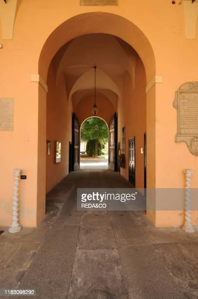 Palazzo della Caritˆ palace. Piazza Papa Giovanni XXIII square. Cremona. Lombardy. Italy. Europe.