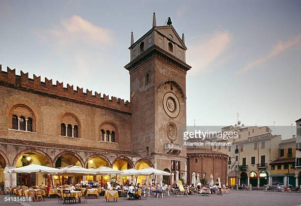 palazzo della ragione in mantua - mantua stock pictures, royalty-free photos & images