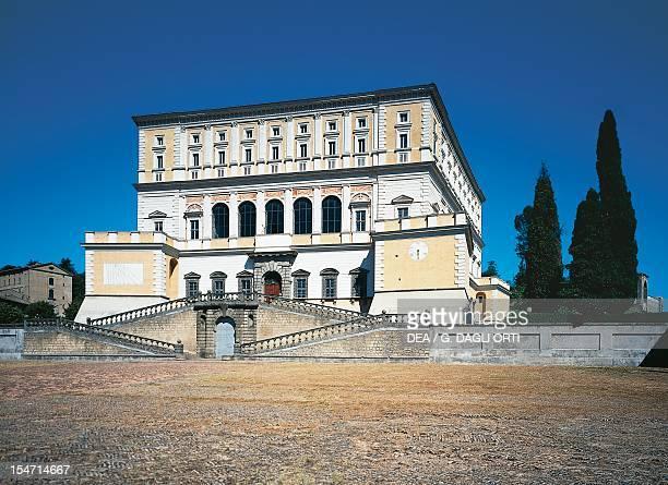 Palazzo Farnese at Caprarola by the architect Jacopo Barozzi da Vignola known as Il Vignola Italy 16th century