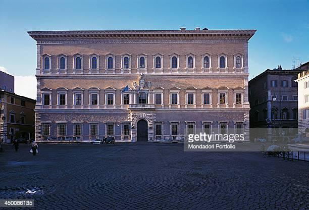 Palazzo Farnese by Buonarroti Michelangelo Barozzi Jacopo known as Vignola Cordini Antonio known as Antonio da Sangallo il Giovane Della Porta...