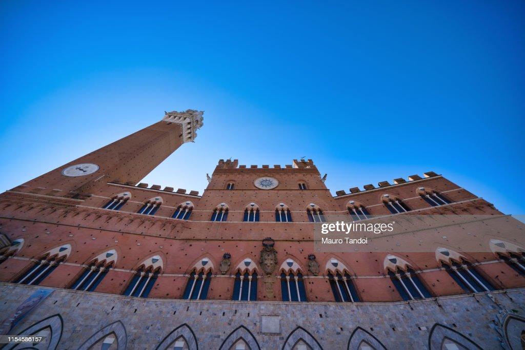 Palazzo Pubblico , Siena, Tuscany, Italy : Foto stock