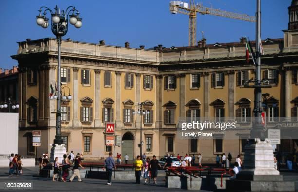 Palazzo Reale, housing Museo del Duomo and Civico Museo d'Arte Contemporane.