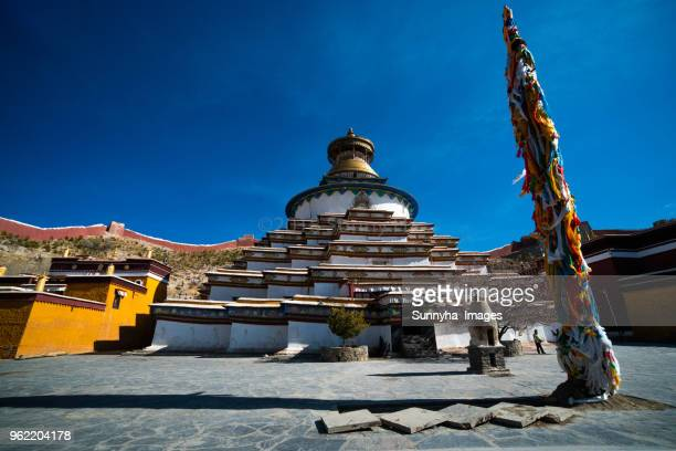 palcho monastery(pelkor chode monastery) - chode images stock photos and pictures