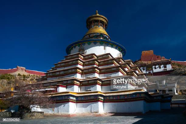 palcho monastery(pelkor chode monastery) - chode picture stock photos and pictures