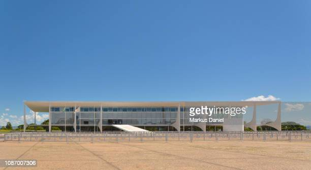 Palácio do Planalto on Three Powers Plaza (Praça dos Três Poderes)