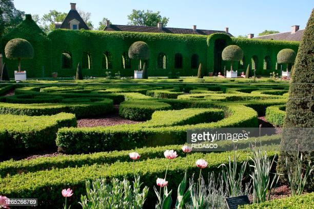 Paleis Het Loo. Apeldoorn. Holland. The Queen's garden.