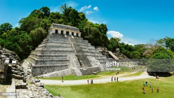 palenque chiapas mexico - chiapas stock pictures, royalty-free photos & images
