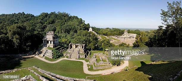 Palenque view, Mexico