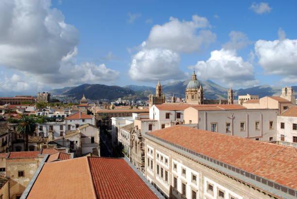 Palermo - Il cassaro dall'alto