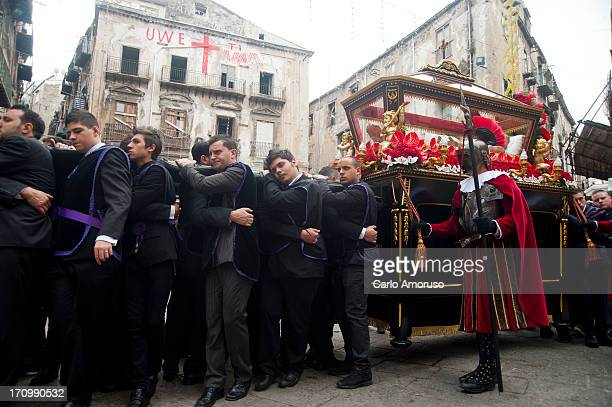 CONTENT] Palermo Sicily Italy 31 March 2013 Easter processions