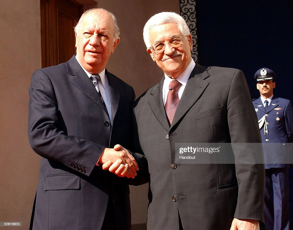 Abbas Makes Official Visit To Chile : News Photo