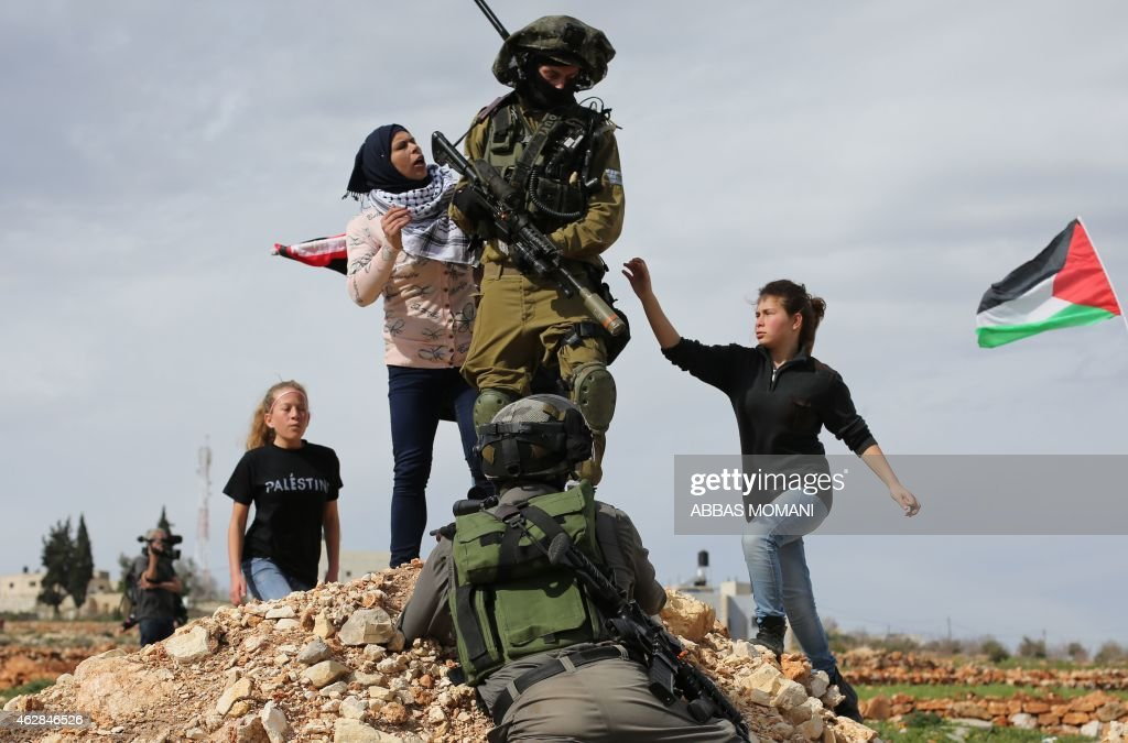 PALESTINIAN-ISRAEL-CONFLICT-DEMO : News Photo