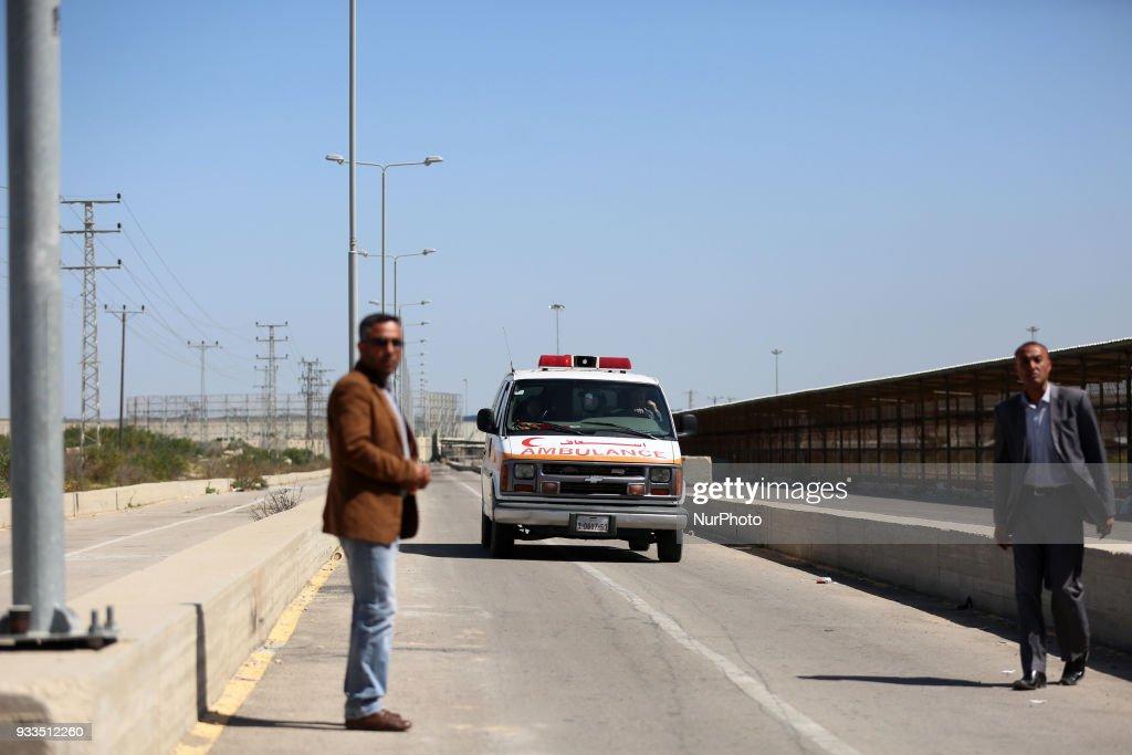 The Erez crossing between Gaza and Israel