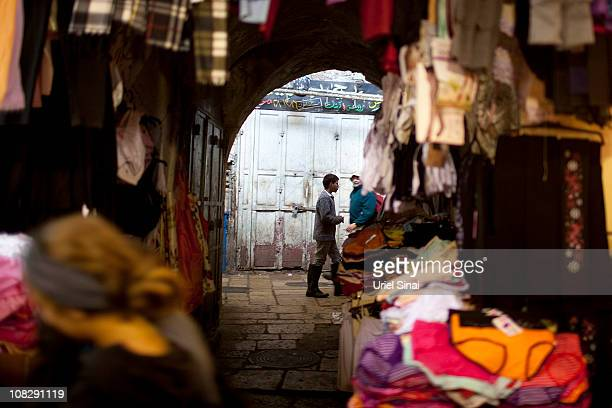 A Palestinian boy walks in the old city January 2011 in Jerusalem Israel Memos released by alJazeera TV reportedly revealed apparent concessions...