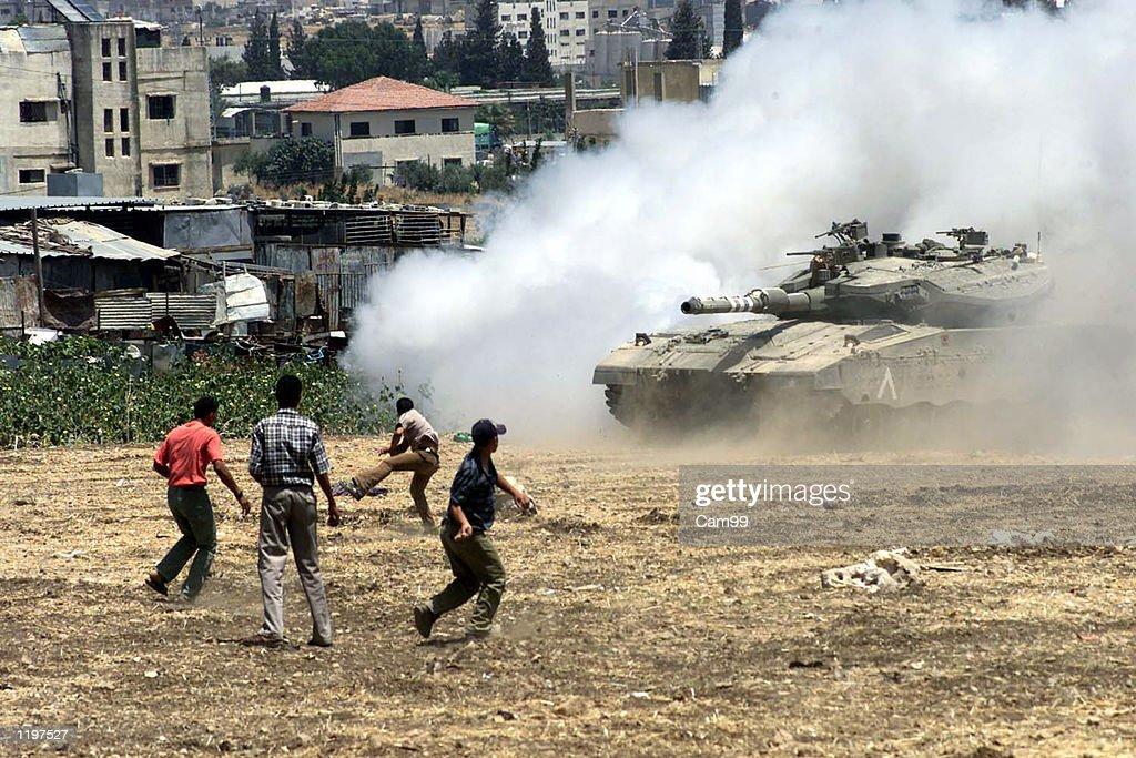 Clashes in Balata Refugee Camp : News Photo