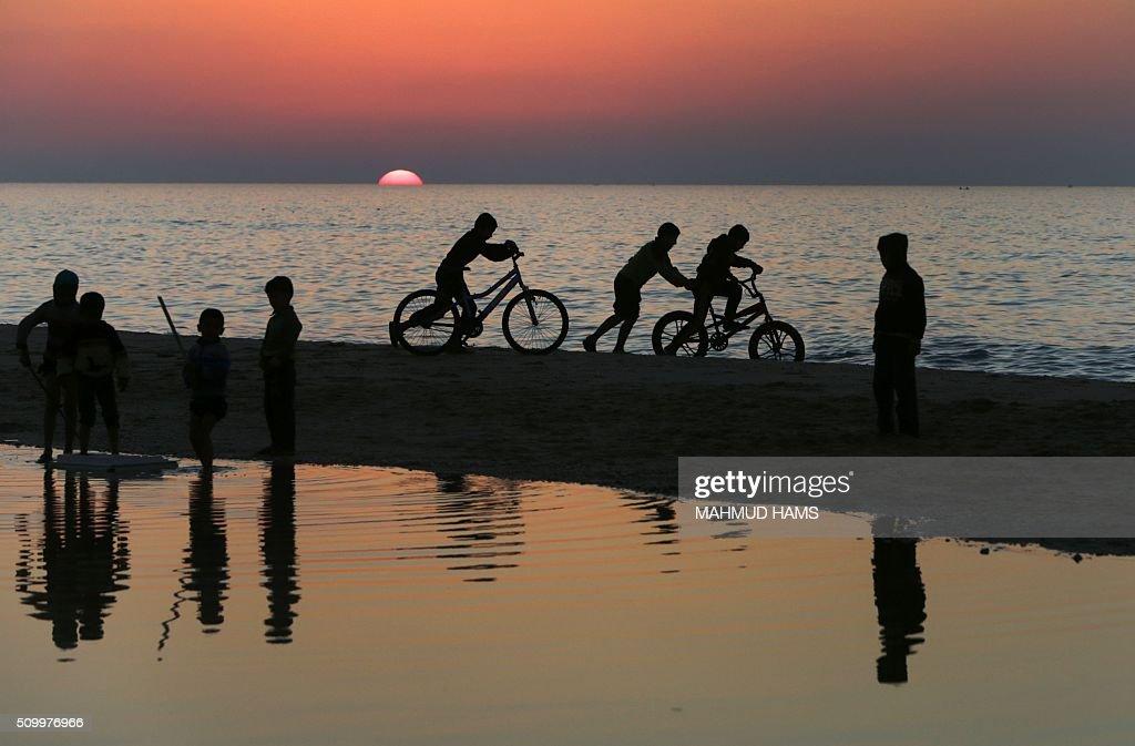 PALESTINIAN-GAZA-DAILYLIFE : News Photo