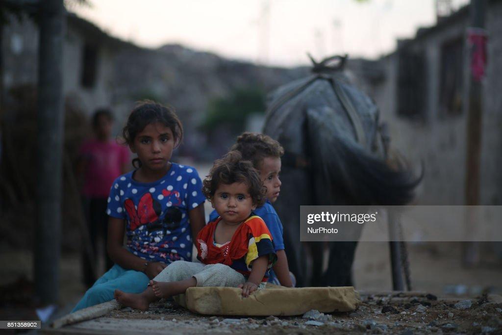 Daily life in Gaza city : News Photo