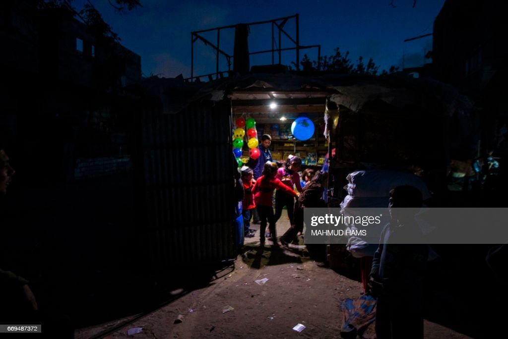 PALESTINIAN-GAZA-ELECTRICITY : News Photo