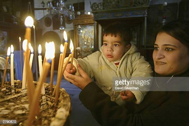 Palestinian Christians Prepare For Christmas