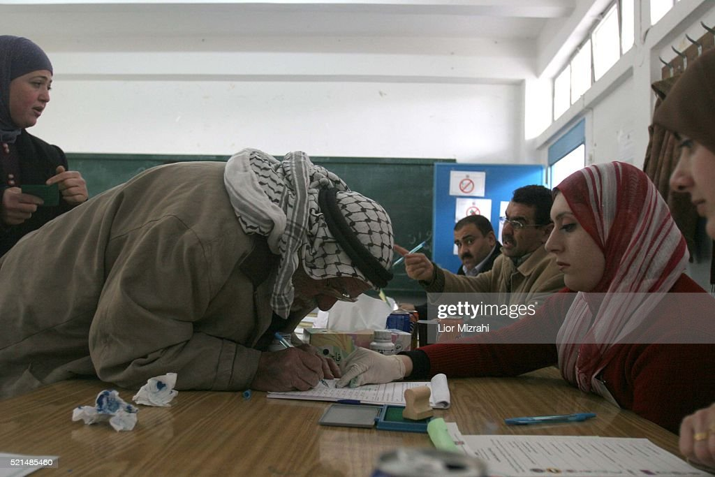 Elections - West Bank : News Photo