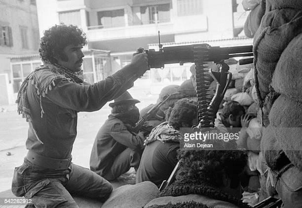 Palestinian Fighters During the Battle of Beirut