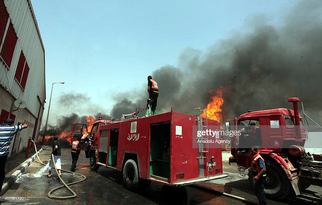 Israeli Airstrikes on Gaza : News Photo