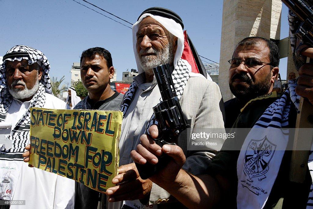 "Palestinians Mark ""Nakba"" Anniversary of Israel's Creation : ニュース写真"