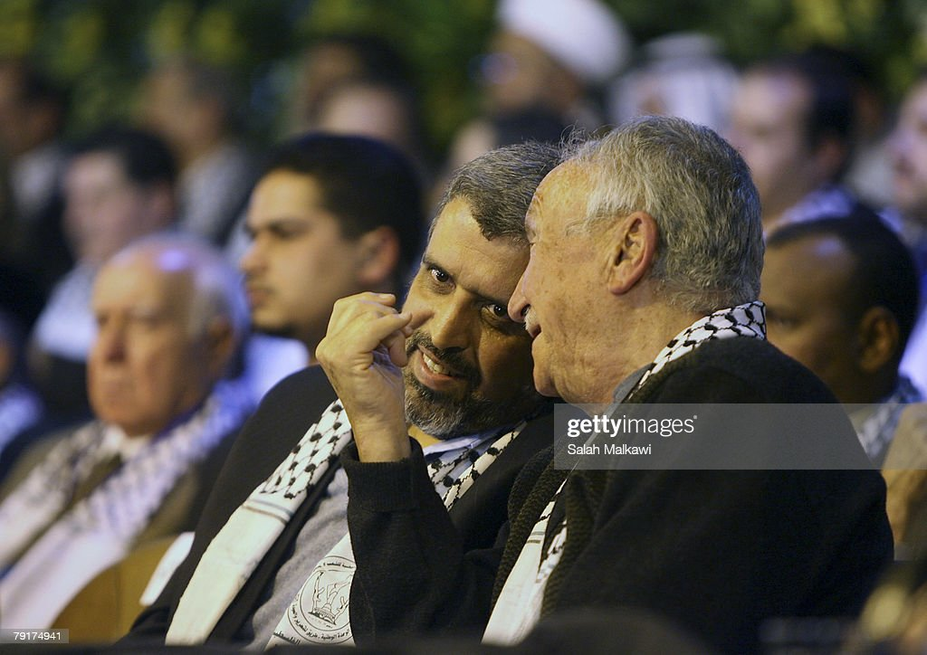 Palestinian Opposition Leaders Meet In Damascus : News Photo