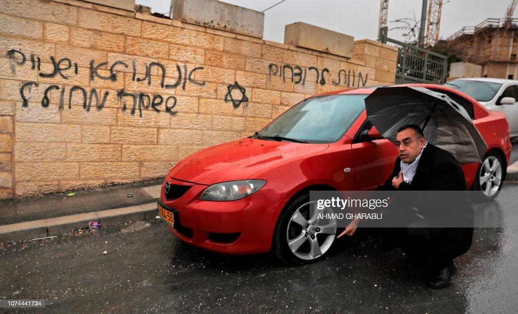 PALESTINIAN-ISRAEL-CONFLICT : Foto di attualità