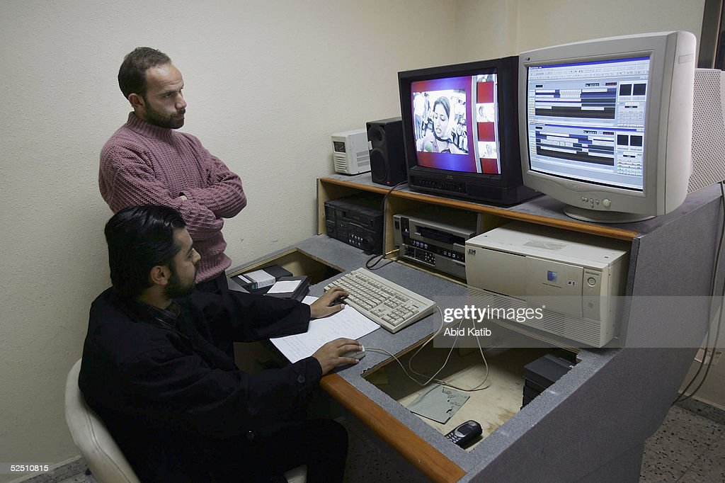 Palestinian Satellite Channel Aims For Peace-Led Programming : News Photo