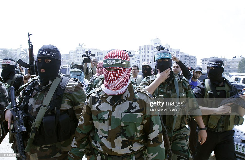 Palestinian militant groups in the Gaza : News Photo