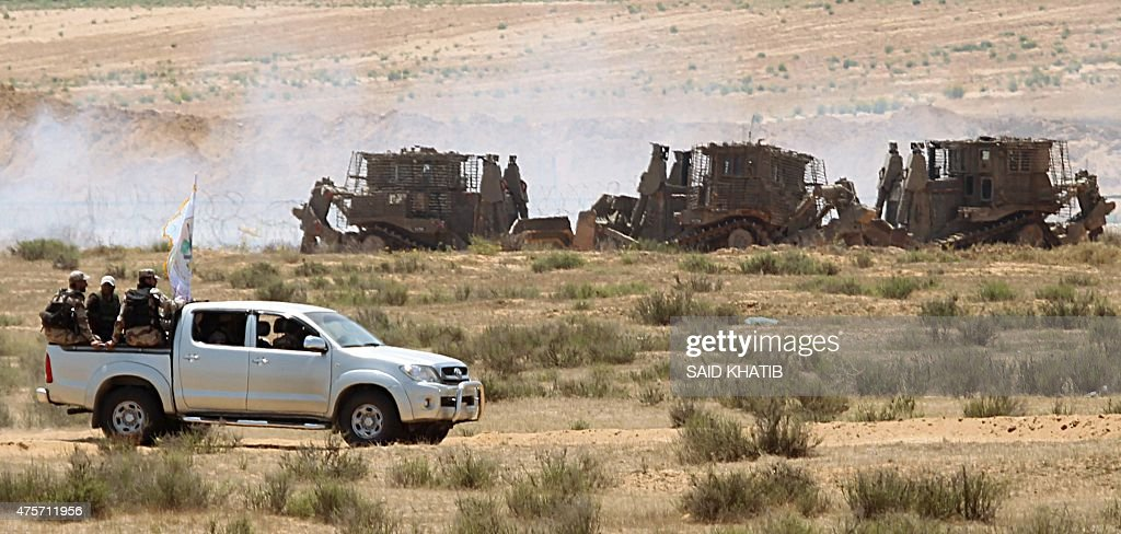 PALESTINIAN-ISRAEL-GAZA-CONFLICT : News Photo