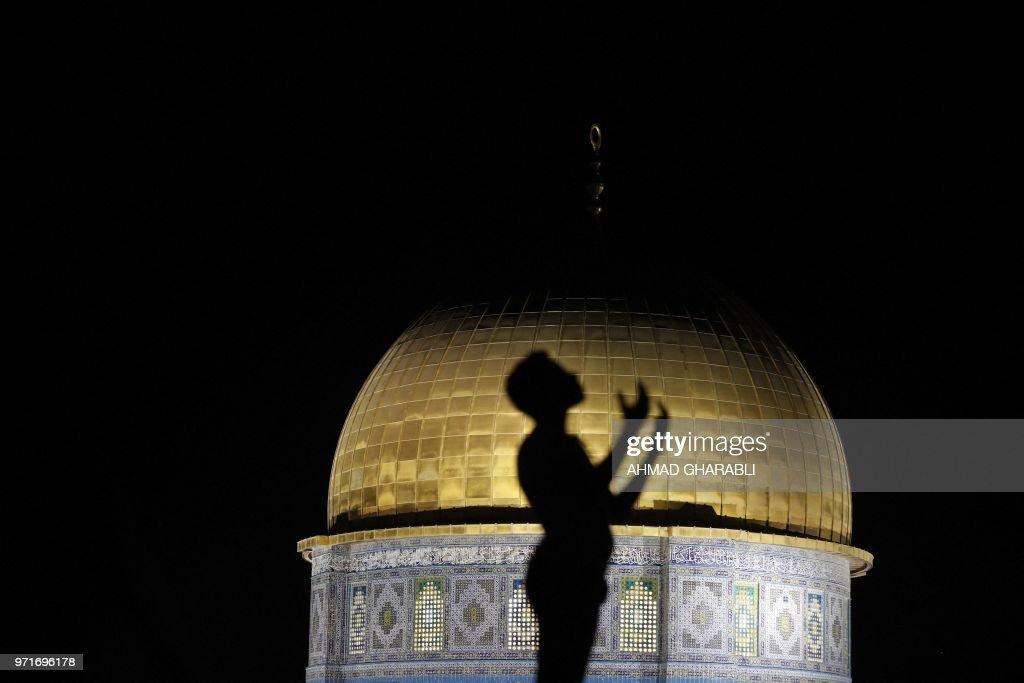 PALESTINIAN-ISRAEL-JERUSALEM-RAMADAN : News Photo