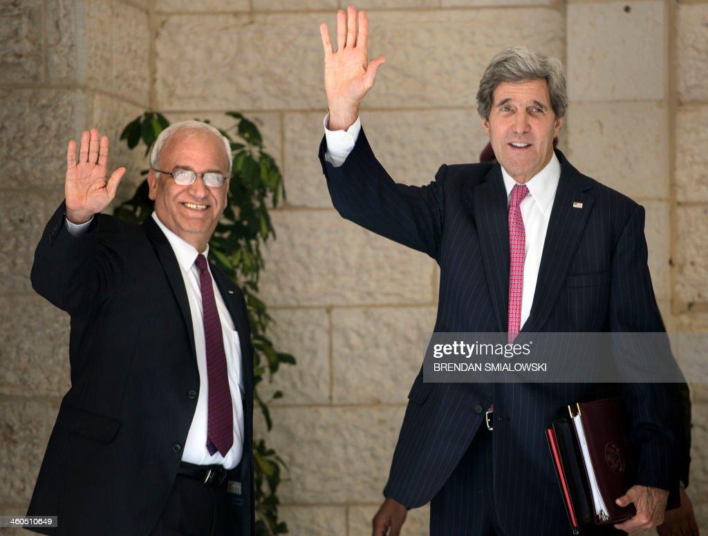 PALESTINIAN-US-DIPLOMACY-KERRY : News Photo