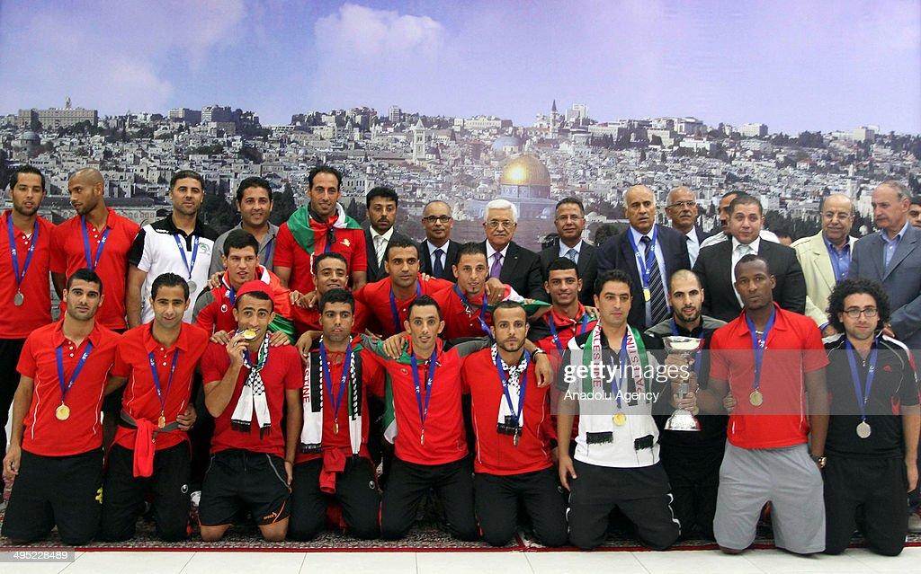 Palestine wins AFC Challenge Cup : News Photo