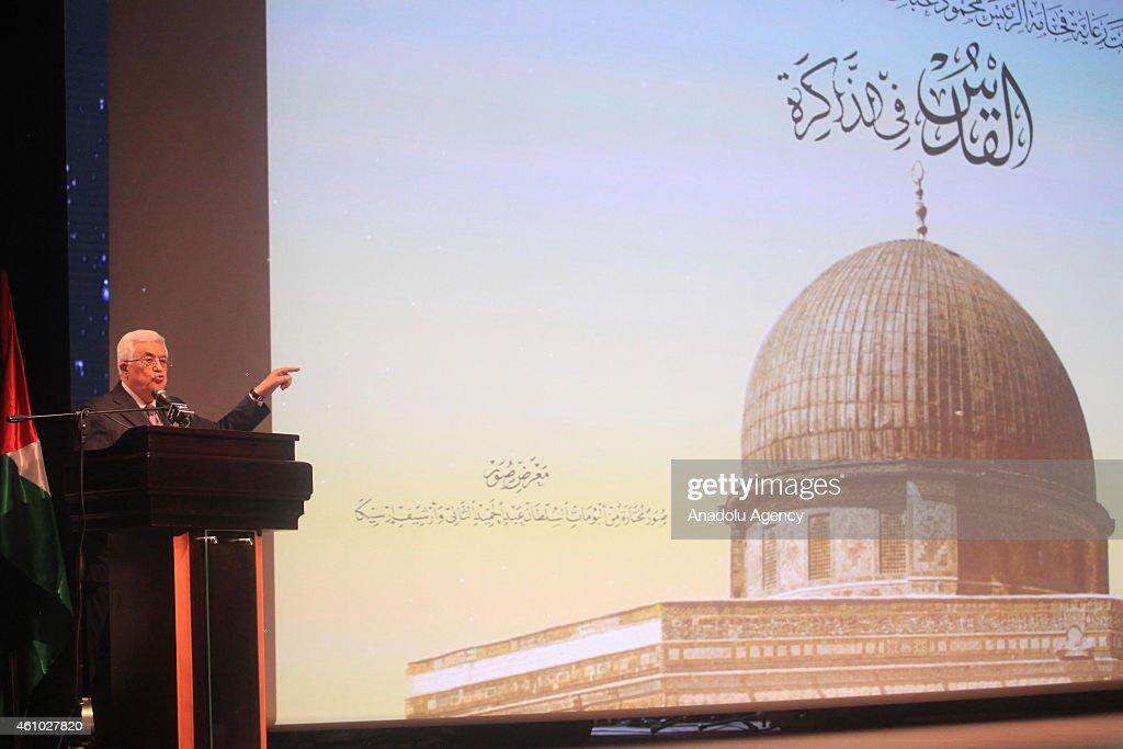 """Jerusalem in Memory"" exhibition in Ramallah : News Photo"